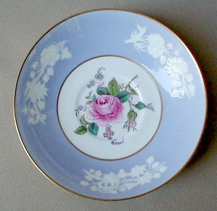 Make sure your browser can show photos and reload this page to see Spode China Maritime Rose R4118 Saucer only