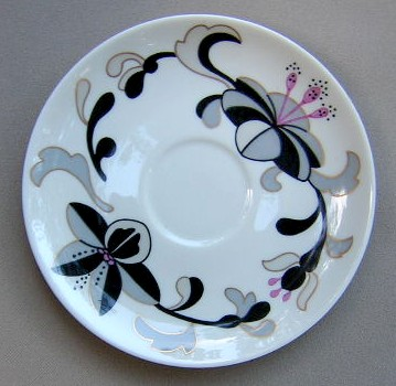 Make sure your browser can show photos and reload this page to see Franciscan China Canton Saucer only