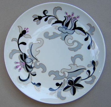 Make sure your browser can show photos and reload this page to see Franciscan China Canton Salad plate 8 1/4