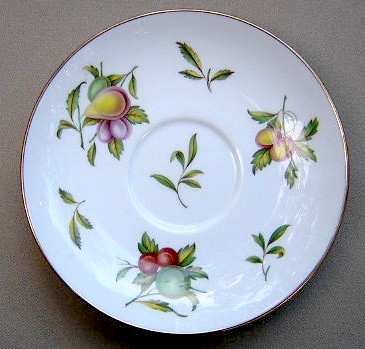Make sure your browser can show photos and reload this page to see Spode China Blenheim Y7695 Saucer only 5 3/4