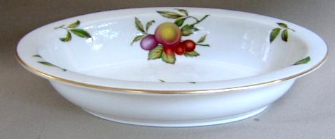 Make sure your browser can show photos and reload this page to see Spode China Blenheim Y7695 Oval vegetable 9 3/8