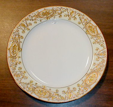 Make sure your browser can show photos and reload this page to see Noritake China #175 Salad plate 7 5/8