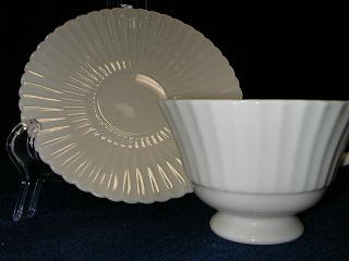 Make sure your browser can show photos and reload this page to see Lenox China Temple Cup and saucer set --plain