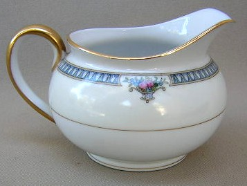 Make sure your browser can show photos and reload this page to see Noritake China Glendive 71227 Creamer