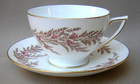 Make sure your browser can show photos and reload this page to see Minton China Bedford S669 Cup and saucer set