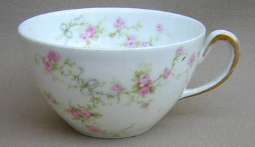Make sure your browser can show photos and reload this page to see Haviland China Marie Cup only (no saucer) 2 1/8