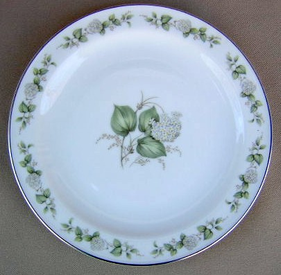 Make sure your browser can show photos and reload this page to see Franconia - Krautheim China Summer Bloom Salad plate 7 5/8