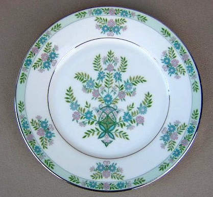 Make sure your browser can show photos and reload this page to see Oxford (Div Of Lenox) China Willow Tree Dinner plate 10 3/4