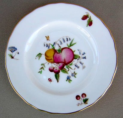 Make sure your browser can show photos and reload this page to see Royal Worcester China Delecta - Multicolored Z2266 Bread and butter plate 6
