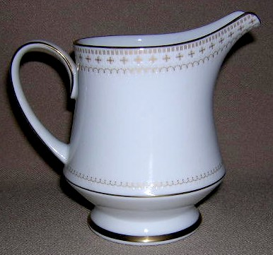 Make sure your browser can show photos and reload this page to see Noritake China Barrington 2030 Creamer