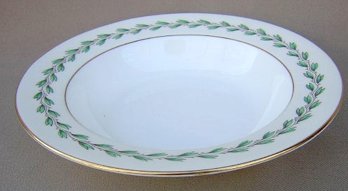 Make sure your browser can show photos and reload this page to see Minton China #S344 Soup bowl, rim shape 7 7/8