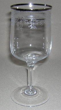 Make sure your browser can show photos and reload this page to see Lenox Crystal Lace Point Wine 6 1/4
