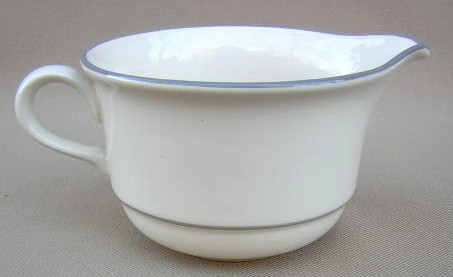Make sure your browser can show photos and reload this page to see Lenox China For The Grey Creamer