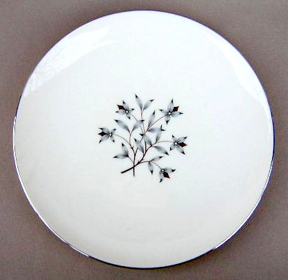 Make sure your browser can show photos and reload this page to see Lenox China Princess X516 Salad plate 7 7/8