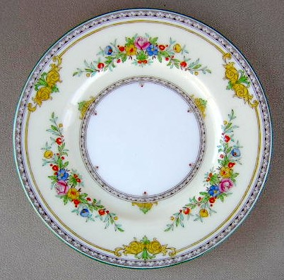 Make sure your browser can show photos and reload this page to see Minton China Stanwood B1112 Bread and butter plate