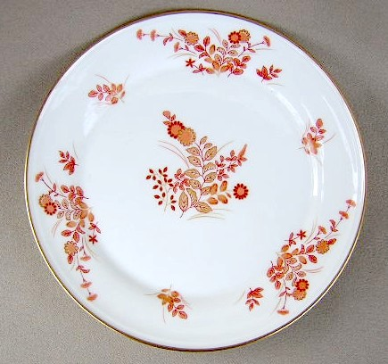 Make sure your browser can show photos and reload this page to see Mikasa China Eastwind A4181 Bread and butter plate 6 1/2
