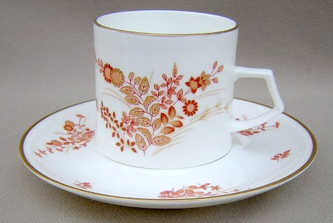 Make sure your browser can show photos and reload this page to see Mikasa China Eastwind A4181 Cup and saucer set 2 7/8