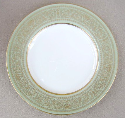 Make sure your browser can show photos and reload this page to see Mikasa China Rosemont A1117 Bread and butter plate 6 1/2