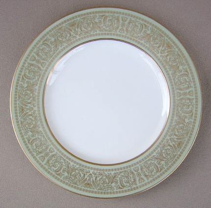 Make sure your browser can show photos and reload this page to see Mikasa China Rosemont A1117 Salad plate 7 1/2