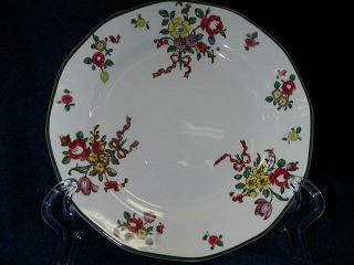 Make sure your browser can show photos and reload this page to see Royal Doulton China Old Leeds Spray D3548 Bread and butter plate 6-1/2