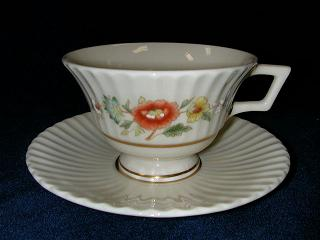 Make sure your browser can show photos and reload this page to see Lenox China Temple Blossom Cup and saucer set
