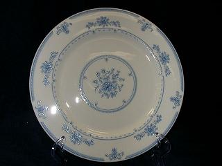 Make sure your browser can show photos and reload this page to see Gorham China Colonial Manor Dinner plate