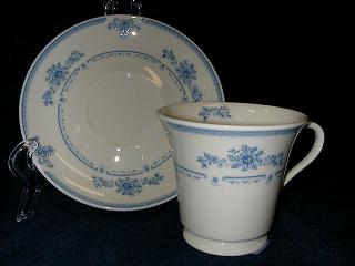 Make sure your browser can show photos and reload this page to see Gorham China Colonial Manor Cup and saucer set