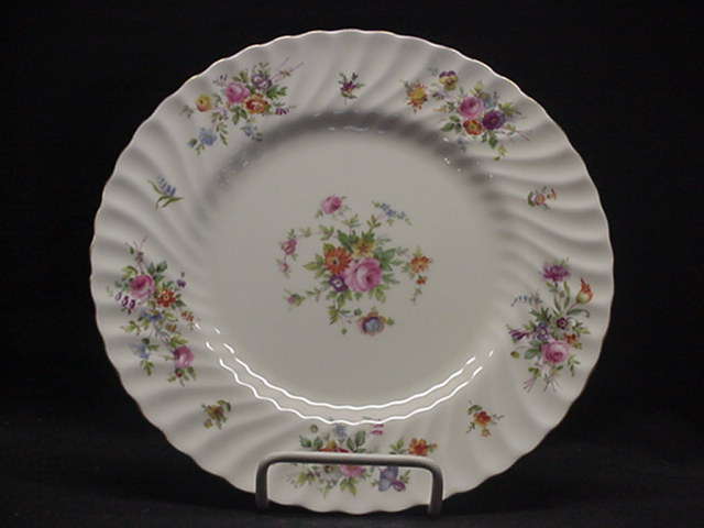 Make sure your browser can show photos and reload this page to see Minton China Marlow S309 Dinner plate 10 5/8