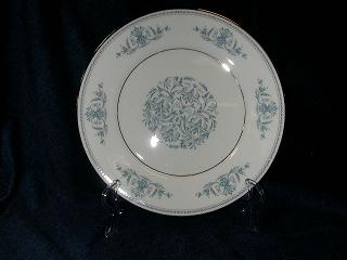 Make sure your browser can show photos and reload this page to see Oxford (Div Of Lenox) China Bryn Mawr Salad plate 8-3/16