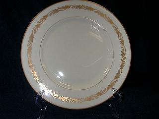 Make sure your browser can show photos and reload this page to see Franciscan China Arcadia - Gold  Salad plate GOLD-8-1/4