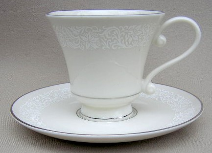 Make sure your browser can show photos and reload this page to see Pickard China Brocade Cup and saucer set