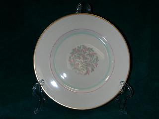 Make sure your browser can show photos and reload this page to see Franciscan China Rossmore Bread and butter plate 6-1/4