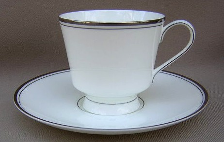 Make sure your browser can show photos and reload this page to see Mikasa China Briarcliffe A1101 Cup and saucer set  3