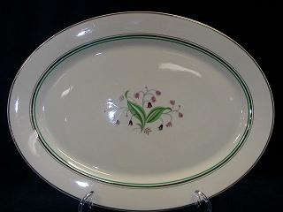 Make sure your browser can show photos and reload this page to see Syracuse China Coralbel Platter, medium