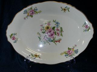 Make sure your browser can show photos and reload this page to see Syracuse China Portland Platter, small