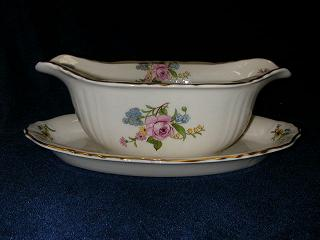 Make sure your browser can show photos and reload this page to see Syracuse China Portland Gravy-attached stand