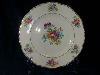 Make sure your browser can show photos and reload this page to see Syracuse China Santa Rosa Salad plate