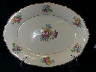 Make sure your browser can show photos and reload this page to see Syracuse China Santa Rosa Platter, small