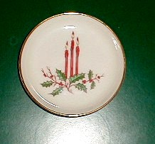 Make sure your browser can show photos and reload this page to see Fine Arts China Christmas (Coupe)  Coaster