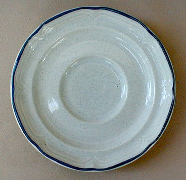Make sure your browser can show photos and reload this page to see International - Sunmarc China Heritage SY7565 Saucer only 6 1/4