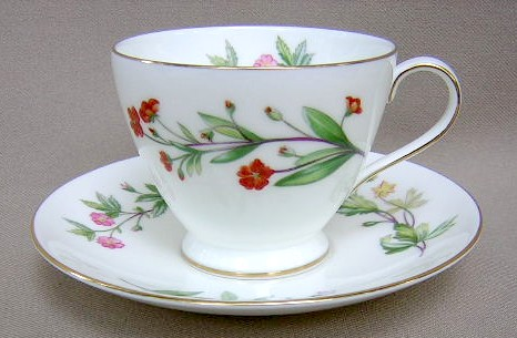 Make sure your browser can show photos and reload this page to see Minton China Meadow S745 Cup and saucer set