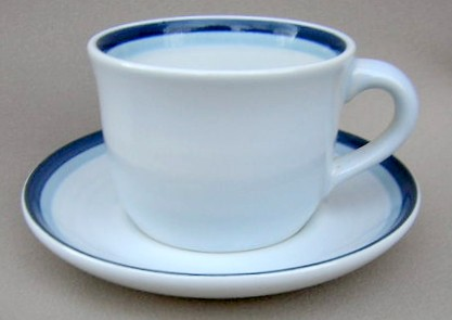 Make sure your browser can show photos and reload this page to see Pfaltzgraff China Sky Cup and saucer set
