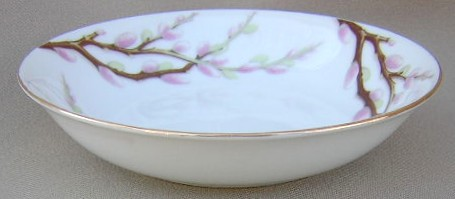 Make sure your browser can show photos and reload this page to see Kent (Japan) China Spring Willow  Fruit/dessert bowl  5 3/8