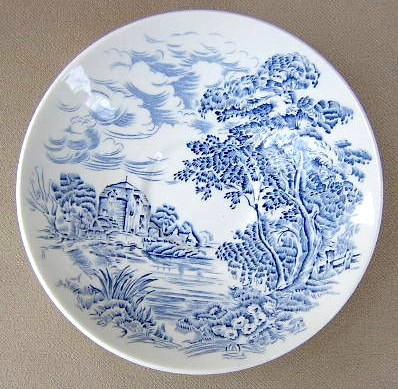 Make sure your browser can show photos and reload this page to see Wedgwood China Countryside Saucer only