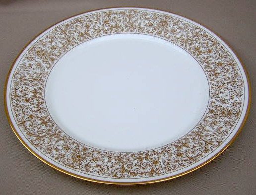 Make sure your browser can show photos and reload this page to see Oxford (Div Of Lenox) China Georgian Court Dinner plate