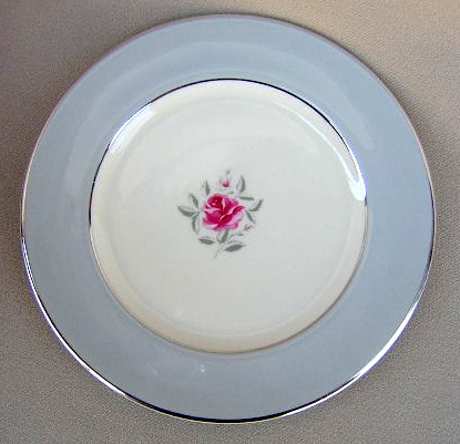 Make sure your browser can show photos and reload this page to see Flintridge China Miramar - Rim Bread and butter plate