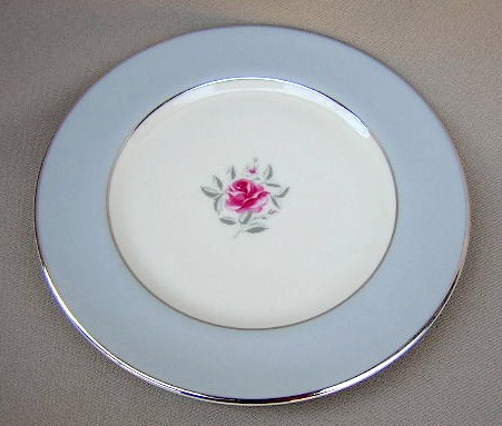 Make sure your browser can show photos and reload this page to see Flintridge China Miramar - Rim Dinner plate