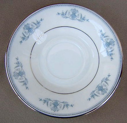 Make sure your browser can show photos and reload this page to see Oxford (Div Of Lenox) China Bryn Mawr Saucer only 5 7/8