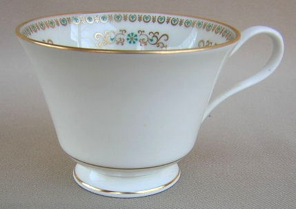 Make sure your browser can show photos and reload this page to see Oxford (Div Of Lenox) China Hampshire Cup only (no saucer)