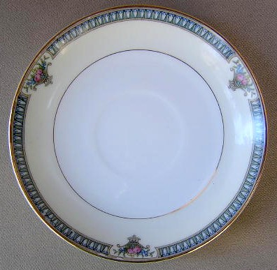 Make sure your browser can show photos and reload this page to see Noritake China Glendive 71227 Saucer only 5 1/2